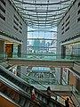 HK Central IFC mall interior Escalators May-2013.JPG