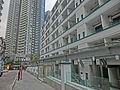 HK Sheung Wan 士丹頓街 Staunton Street 前 荷李活道已婚警察宿舍 former Hollywood Road Police R & F Married Quarters Dec-2013 Shing Wong Road CentreStage.JPG