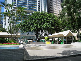 Central and Western Heritage Trail - Image: HK Statue Square Plaza Overview