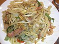 HK Yau Ma Tei 文華新邨 Man Wah Sun Chuen restaurant food 炒貴刁 Char kway teow fried noodle June-2011.jpg