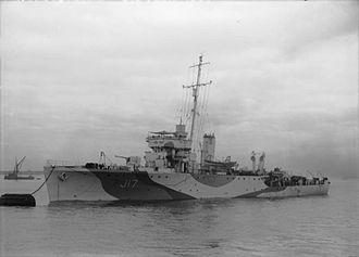 HMS Speedy (J17) - Image: HMS Speedy 1944 IWM FL 3100