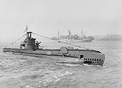HMS Syrtis im April 1943