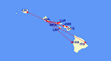 Hawaiian Airlines Inter Island Flights