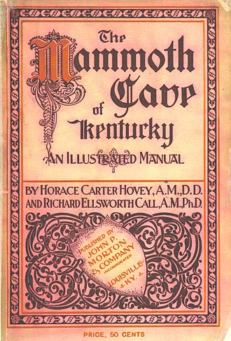 Mammoth Cave National Park - The Mammoth Cave of Kentucky: An illustrated manual (1897)