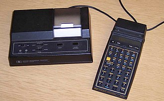 Programmable calculator - Image: HP 41CX