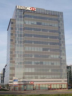 HSBC Bank Canada - An HSBC branch in Markham, Ontario.