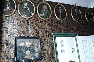Gerrit Willem van Oosten de Bruyn - Image: Haarlem Hofje van Noblet regentenkamers