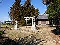 Hachiman-jinja, at Futaba-chō, Toyokawa, Aichi (2018-11-25) 01.jpg