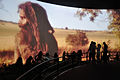 Hacking Space Participants Watch Panorama on Human Evolution - Science Exploration Hall - Science City - Kolkata 2016-03-29 3000.JPG