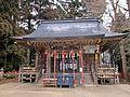 Haiden of Mutsu-Soujanomiya shrine.JPG