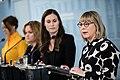 Hallituksen tiedotustilaisuus koronavirustilanteesta ja varautumisesta Suomessa 27.2.2020 (49591731976).jpg