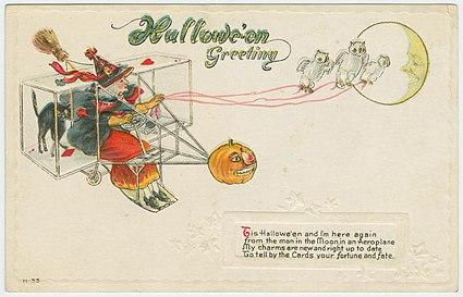 Hallowe-'en greeting.