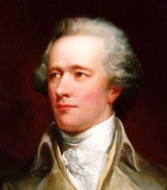 History of the United States (1789–1849) - Alexander Hamilton, First U.S. Secretary of the Treasury