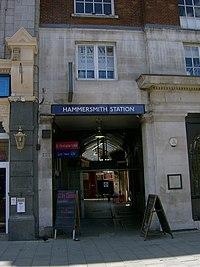 Hammersmith (H&C Line) tube station external.JPG