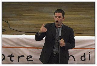 Benoît Hamon, le 21 avril 2005.
