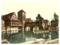 Hangman Bridge, Nuremberg, Bavaria, Germany-LCCN2002696163.tif