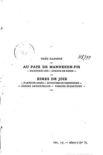 File:Hannon - Au pays de Manneken-pis, 1888.djvu