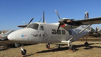 Harbin Y-12 - Harbin Y-12 (II) at China Aviation Museum, Beijing
