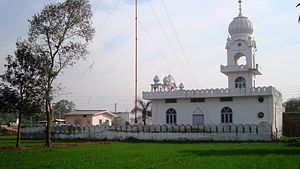Rupnagar district - Gurudwara Sri Hargobindsar Sahib located at the historical village, Dadhi, near Kiratpur Sahib.