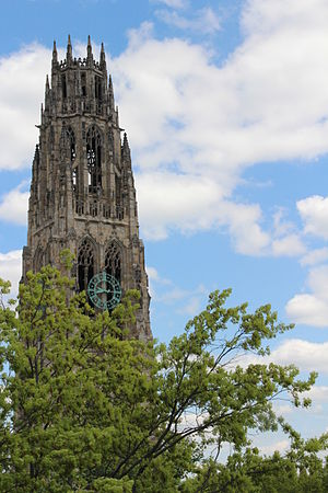 St Botolph's Church, Boston - Harkness Tower at Yale University