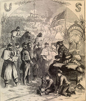 January 3, 1863 cover of Harper's Weekly, one ...