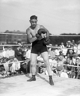 Harry Greb American boxer