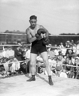 Harry Greb American boxer