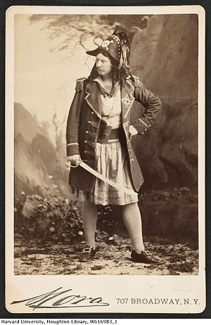 Signor Brocolini - Brocolini as the Pirate King, the role he created
