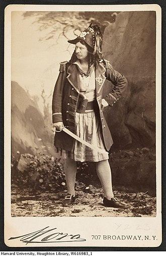 Signor Brocolini - Brocolini as the Pirate King, the role he created