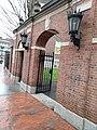 Harvard University,. November, 2019. as you enter from Harvard Yard from Square Train Station MBTACambridge, Massachusetts.jpg
