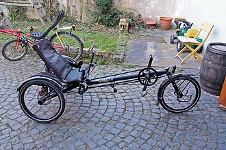 Hase Spezialräder - Image: Hase Kettwiesel 1 DSCF2194