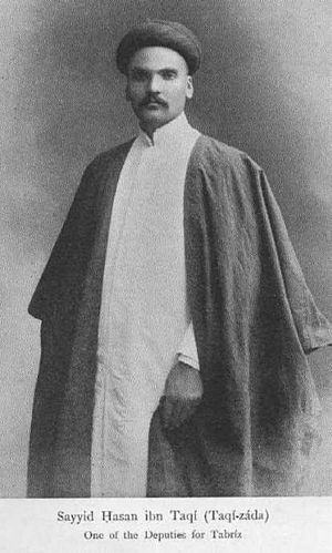 Hassan Taqizadeh - Sayyed Hasan Teqizadeh (around 1906)