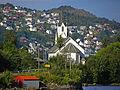 Haus kirkested fra Mjeldevågen mot Ytre Arna.jpg