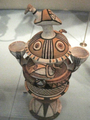 Hausa ceremonial water pot (Bida, Nigeria), World Museum Liverpool.png
