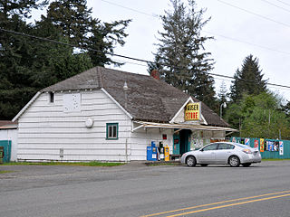 Hauser, Oregon Unincorporated community in Oregon, United States