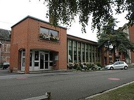 A városháza Hautmontban