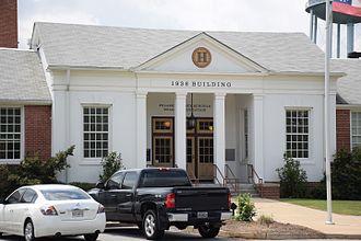 Georgia Trust for Historic Preservation - Old Hawkinsville High School