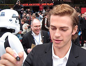 Hayden Christensen - Christensen at the Berlin premiere of Star Wars: Episode III in 2005
