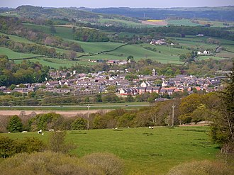 Haydon Bridge - Image: Haydon Bridge from the south west