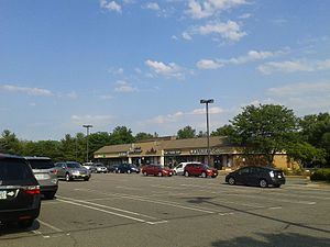 Hayfield, Fairfax County, Virginia - Shops at the Hayfield Shopping Center