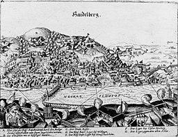 Heidelberg während des 30jährigen Krieges 1622