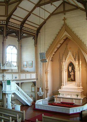 Heinävesi Church - The altar