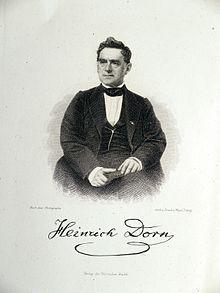 Heinrich Dorn (Quelle: Wikimedia)