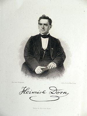 Heinrich Dorn - Image: Heinrich Dorn