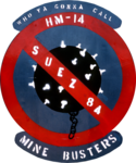 Helicopter Mine Countermeasures Squadron 14 (US Navy) unofficial Operation Intense Look insignia, 1984 (6396358).png