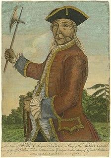 Hendrick Theyanoguin Mohawk leader