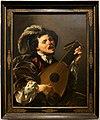 Hendrick ter brugghen, uomo che suona il liuto, 1624.jpg