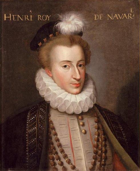 Генрих IV, король Франции, 1575
