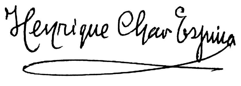 Henrique Chao Espina firma