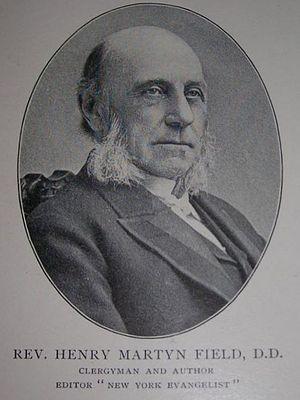 Henry Martyn Field (minister) - Rev. Field